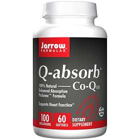 Jarrow Formulas Q-Absorb Co-Q10 100mg 60 Capsules
