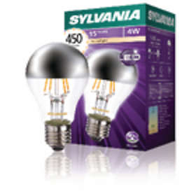 Sylvania ToLEDo Retro A60 Silvered Crown 450lm 2700K E27 4W