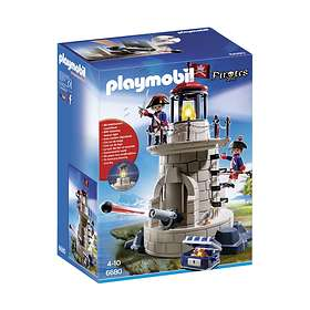 Playmobil Pirates 6680 Soldiers' Lookout with Beacon