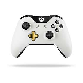 Microsoft Xbox One Wireless Controller S - Lunar White Edition (Xbox One/PC)