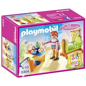 Playmobil Dollhouse 5304 Baby Room with Cradle