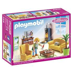 Playmobil Dollhouse 5308 Living Room with Fireplace