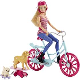 Barbie Spin 'n Ride Pups with Doll CLD94