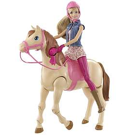 Barbie Saddle 'n Ride Horse and Doll CMP27