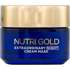 L'Oreal Nutri Gold Extraordinary Night Cream Mask 50ml