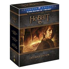 Hobbit Filmtrilogin - Extended Edition (3D)