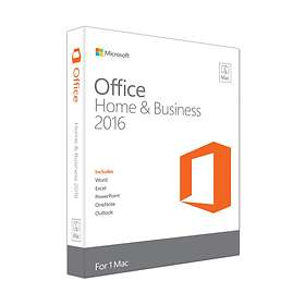 Microsoft Office Home & Business 2016 for Mac Nord (PKC)