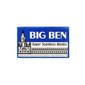 Big Ben Super Stainless Double Edge Blades 5-pack