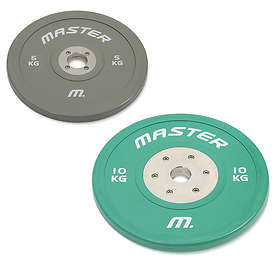 Master Fitness Bumper Plate Competition 10kg