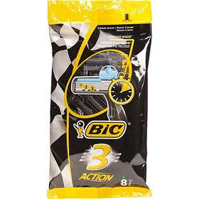 Bic 3 Action Disposable 8-pack