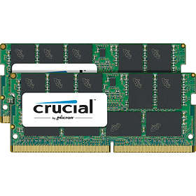 Crucial SO-DIMM DDR4 2400MHz ECC 2x16GB (CT2K16G4TFD824A)
