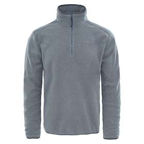 The North Face 100 Glacier 1/4 Zip Fleece Pullover (Herr)