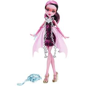 Monster High Haunted Getting Ghostly Draculaura Doll CDC26