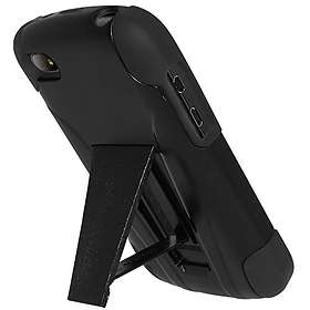 Amzer Double Layer Hybrid Case with Kickstand for BlackBerry Q10