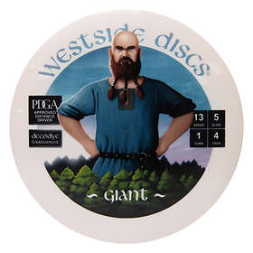 Westside Golf Discs Tournament Giant DecoDye