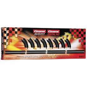 Carrera Toys GO!!! Single-Lane Bends/Straight Section Extension Set (61657)