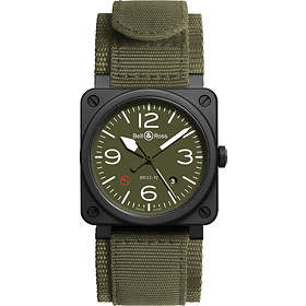 Bell & Ross BR 03-92 Ceramic Military Type Rubber
