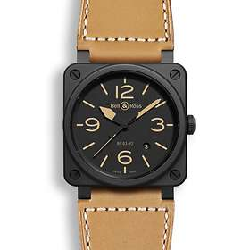 Bell & Ross BR 03-92 Ceramic Heritage Leather