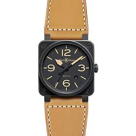Bell & Ross BR 03-92 Steel Heritage Leather