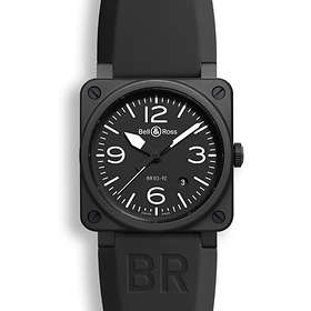 Bell & Ross BR 03-92 Steel Carbon Rubber