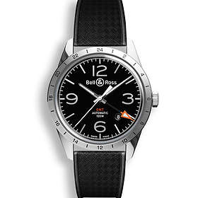 Bell & Ross BR Automatic 123 GMT 24H Rubber
