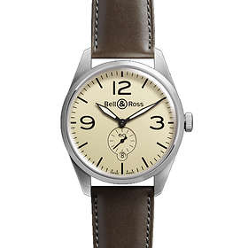 Bell & Ross BR Automatic 123 Original Beige Leather
