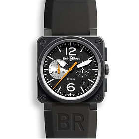Bell & Ross BR 03-94 Chronographe Black & White Rubber