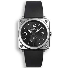 Bell & Ross Aviation BR S Steel Rubber