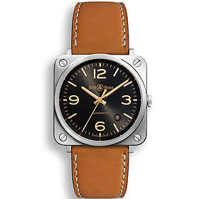 Bell & Ross Aviation BR S Golden Heritage Leather