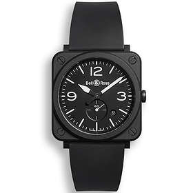 Bell & Ross Aviation BR S Black Matte Rubber