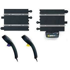 Scalextric Power & Control Base Multi-Lane 175mm & 2 Hand Controllers (C8241)