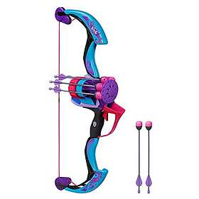 NERF Rebelle Secrets and Spies Arrow Revolution Bow Blaster
