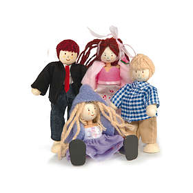 Le Toy Van Doll Family of 4 (P051)