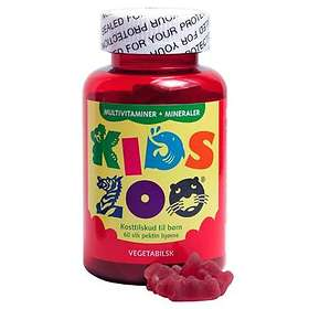 Acrilex KidsZoo Multivitamin Vegetable 60 Tablets