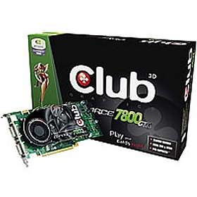 Club 3D GeForce 7800GTX VIVO 2xDVI 256MB