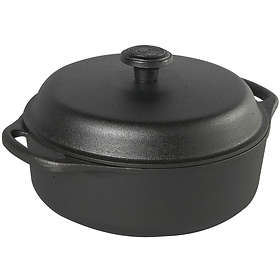 Skeppshult Casserole 3L (Round, with Cast Iron Lid)