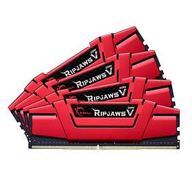G.Skill Ripjaws V Red DDR4 2800MHz 4x16GB (F4-2800C15Q-64GVR)