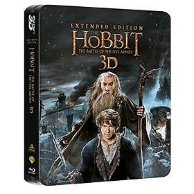 The Hobbit: The Battle of the Five Armies - Extended Edition SteelBook (3D) (UK)