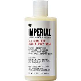 Imperial Barber Products Complete Hair & Body Wash 265ml