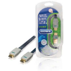 Bandridge Blue HDMI - HDMI High Speed with Ethernet 1m