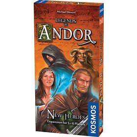 Legends of Andor: New Heroes 5-6 Players (exp.)