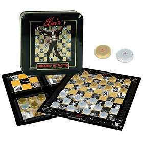 Checkers and Tic Tac Toe: Elvis