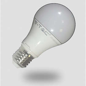 V-TAC VT-1853 A60 Thermal Plastic Bulb LED 806lm E27 10W (Warm White)
