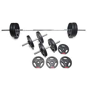 Bodypower Tri-Grip Vinyl Weight Set 37kg