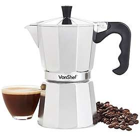 VonShef Italian Espresso Coffee Maker 6 Cups
