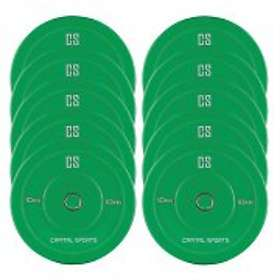 Capital Sports Nipton Bumper Plates 5x10kg