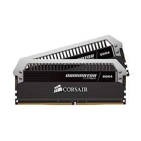 Corsair Dominator Platinum White LED DDR4 3200MHz 2x16Go (CMD32GX4M2C3200C16)