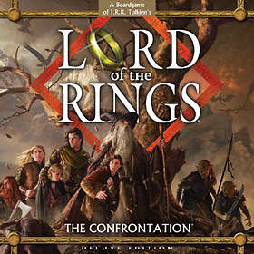 Fantasy Flight Games Lord of the Rings: The Confrontation (Deluxe Edition)