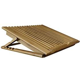 Macally Adjustable Bamboo Cooling Stand 2