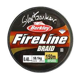 Berkley Fireline Svartzonker Braid 0.14mm 1800m